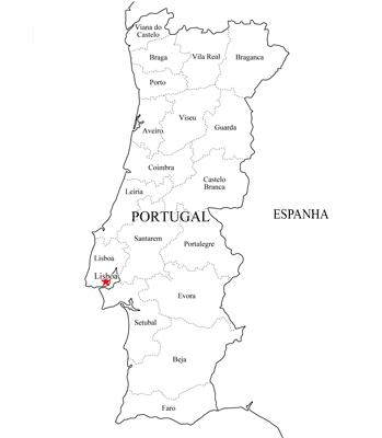 Família Proença Mapa De Portugal - Portugal mapa